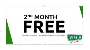 2nd Month Free Coupon